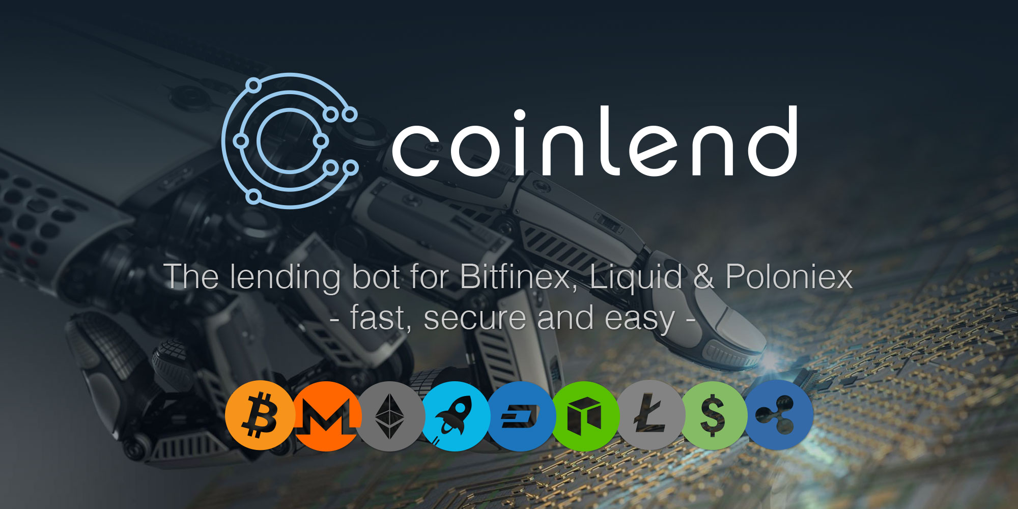 Coinlend - The Lending-Bot for Bitfinex, Poloniex & Liquid